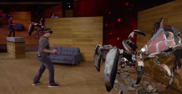 Los HoloLens de Microsoft
