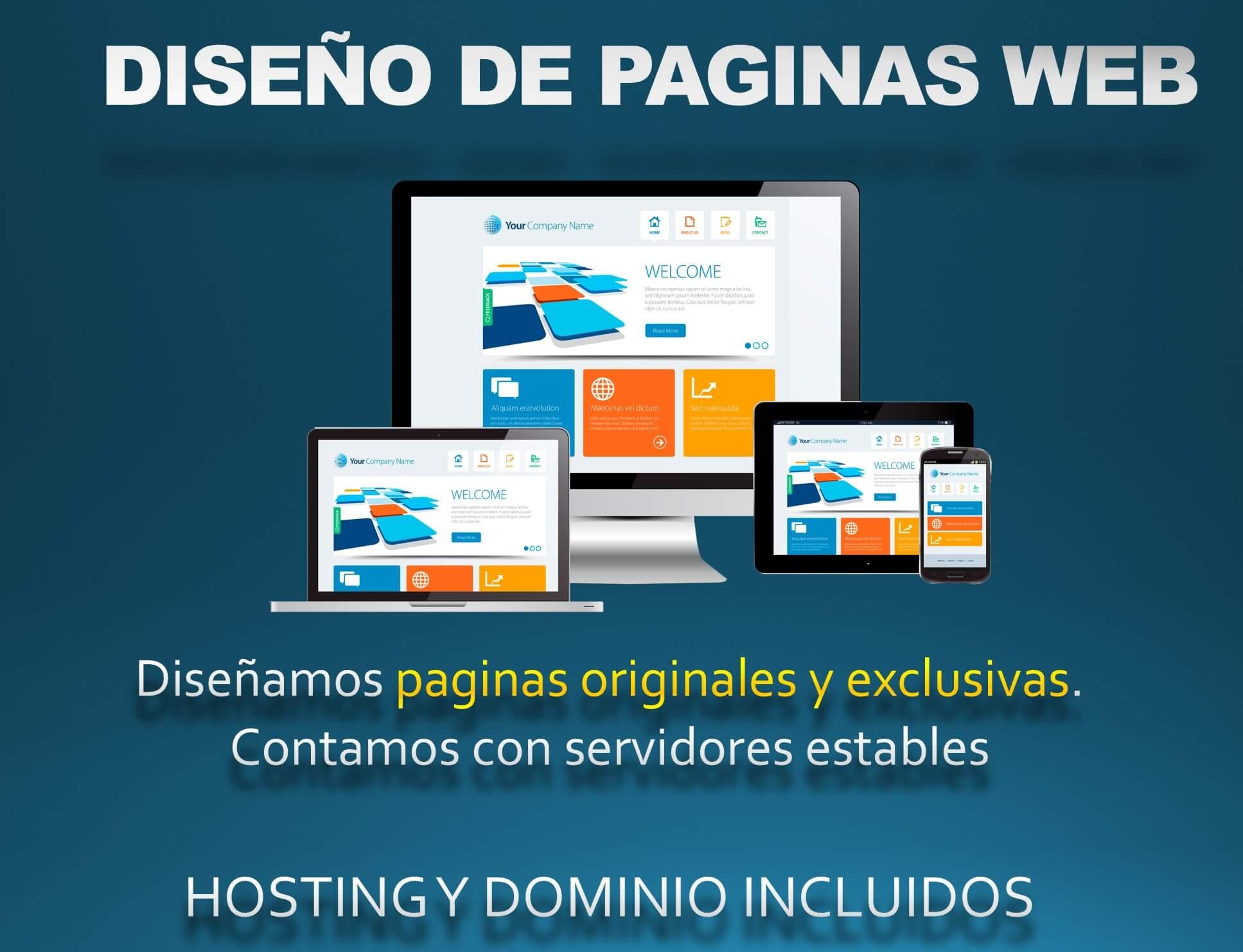 Diseño Web Profesionales y Originales