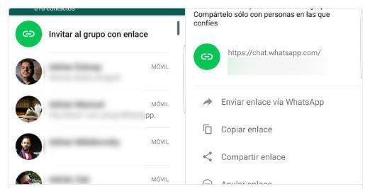 WhatsApp permitira enviar link para invitar a cualquiera a un grupo0 (0)