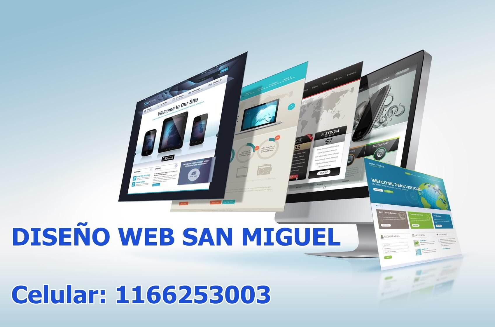 Diseño Web San Miguel