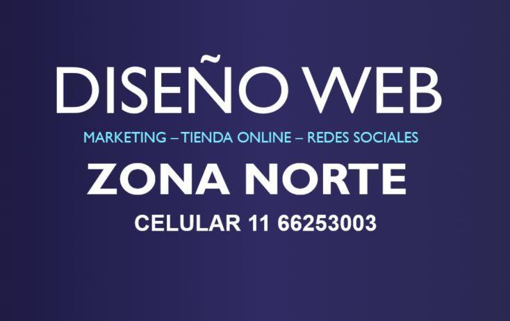 Diseño Web de Paginas Web Zona Norte✅
